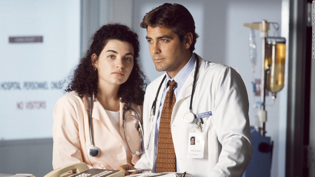 Julianna Margulies admits she and George Clooney had a real-life 'crush' during 'ER'