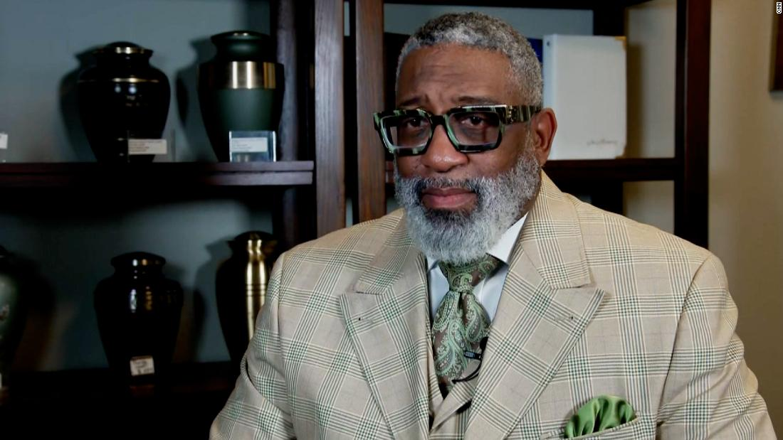 CNN speaks to CEO of Black-owned funeral home planning Wright's funeral