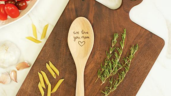 HearthandTableCo Personalized Engraved Wooden Spoon