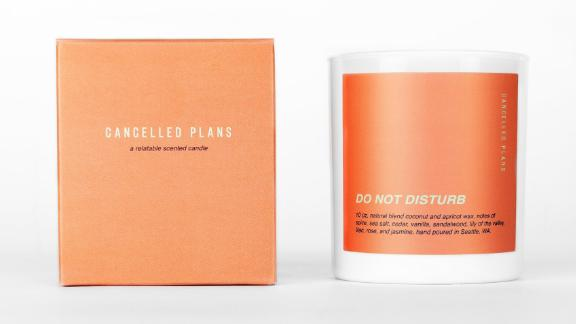 CancelledPlans Do Not Disturb Candle