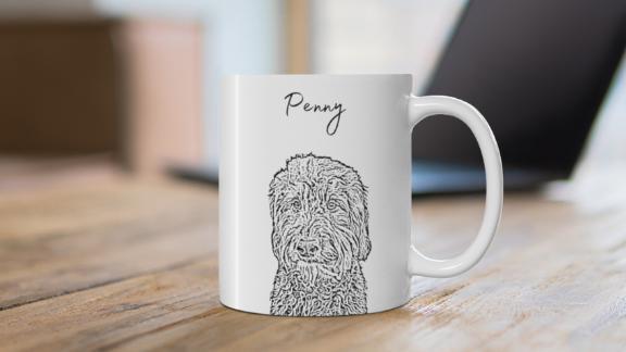 ModPawsUS Personalized Pet Mug