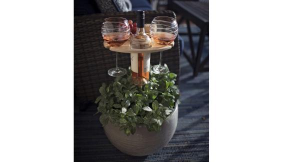 FaircraftUSA Outdoor Folding Wine Table