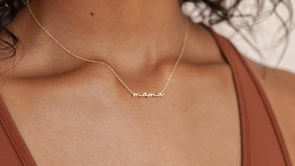CaitlynMinimalist Tiny Mama Necklace