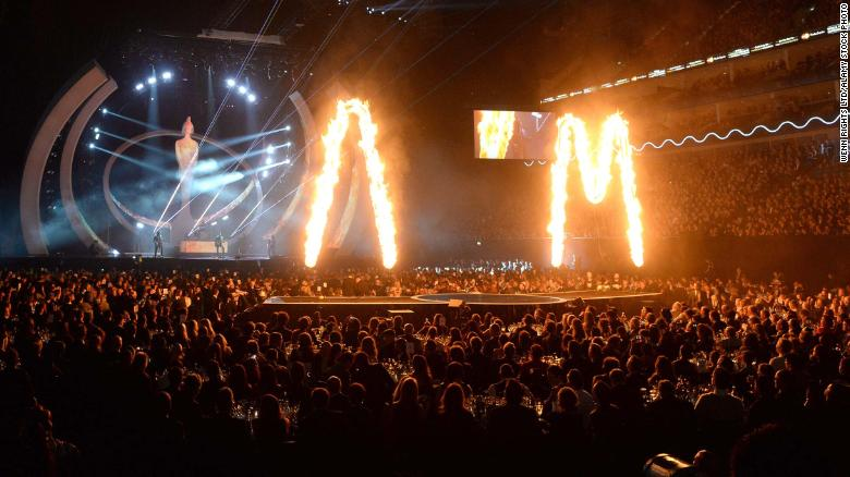 No masks, no social distancing and a 4,000-strong crowd at next month's Brit Awards, as the UK looks to restart live events