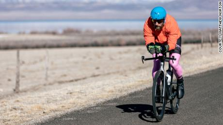 James Lawrence has taken on quite a challenge -- covering nearly 23,000 kilometers in 100 days.