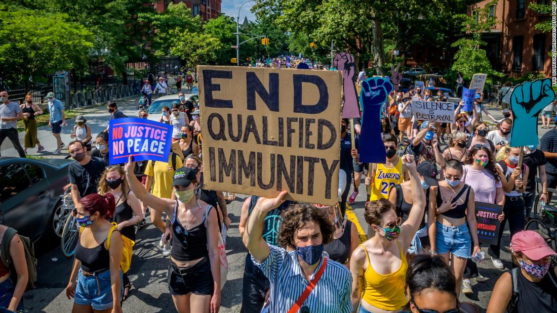 States tackling 'qualified immunity' for police as Congress squabbles over the issue