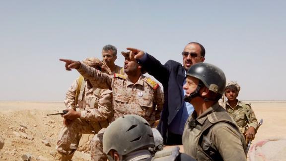 screengrab yemen frontline