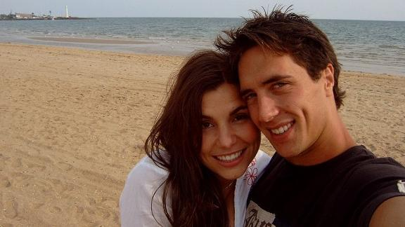 <strong>Reunited: </strong>In Melbourne, Gianna and Sebastian picked up where they'd left off in Byron.