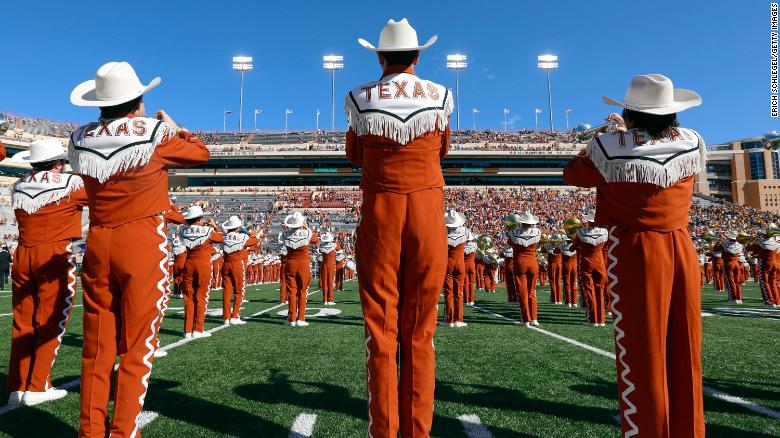 University of Texas band members will be required to play 'The Eyes of Texas' or join a different band