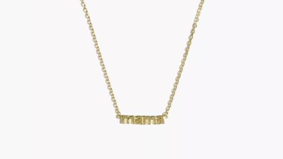 Delicate Collection Demi-Fine Mama Necklace