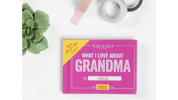 Knock Knock What I Love About Grandma Fill-in-the-Love Book