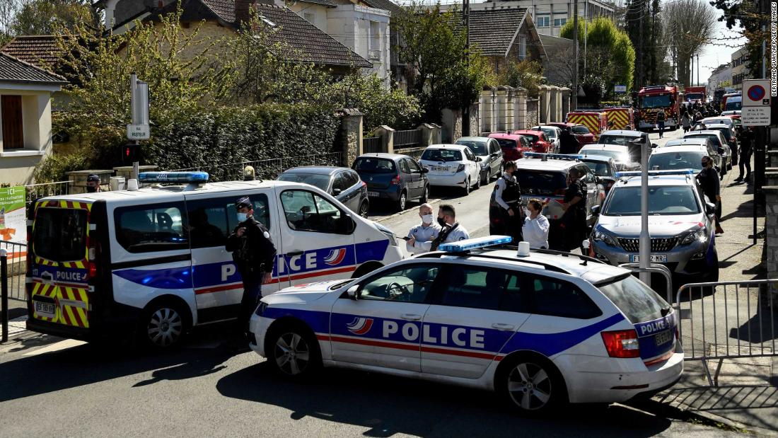French police official killed in knife attack at station near Paris – CNN
