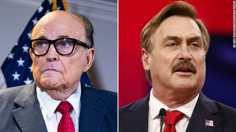 """Rudy Giuliani and the MyPillow Guy among """"winners"""" in 41st Annual Razzie Awards for worst in cinema"""