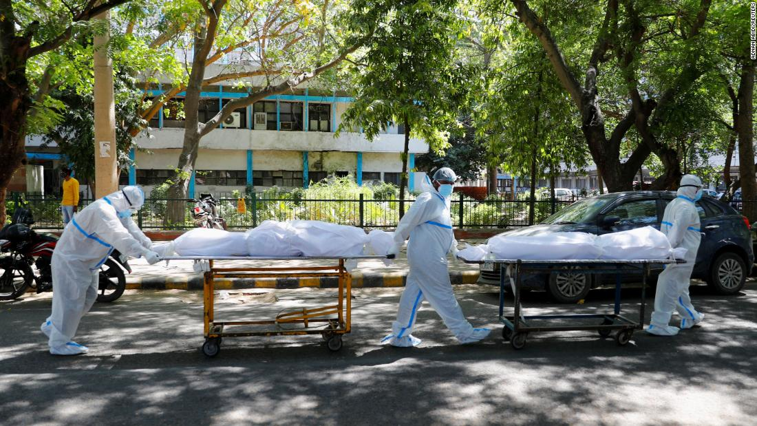 India sets Covid-19 infection record for fourth straight day with hospitals desperate for oxygen – CNN