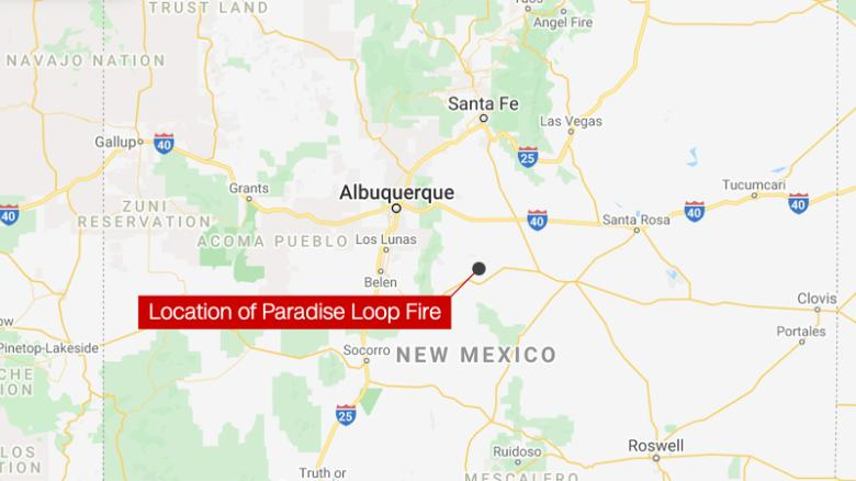 Evacuation orders lifted in New Mexico wildfire