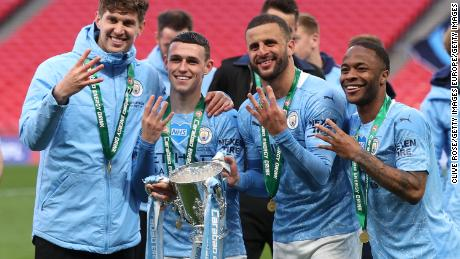 Manchester City has now won four League Cup titles in a row.