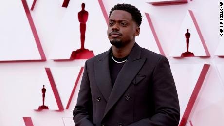 Daniel Kaluuya won the Oscar for best supporting actor. (AP Photo/Chris Pizzello, Pool)