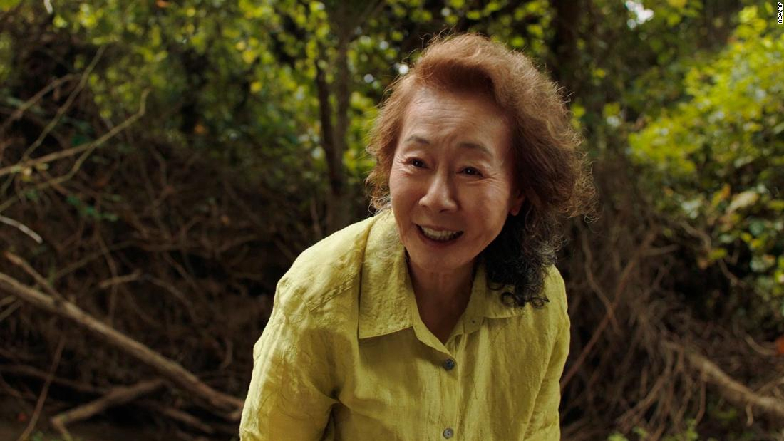"<strong>Best supporting actress:</strong> Yuh-jung Youn, ""Minari"""