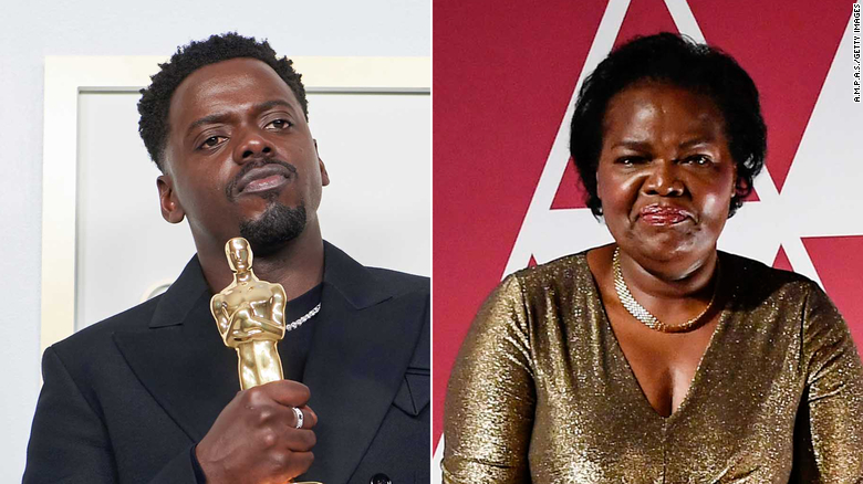 Daniel Kaluuya mentioned his mom's sex life in his Oscars speech. She was not impressed
