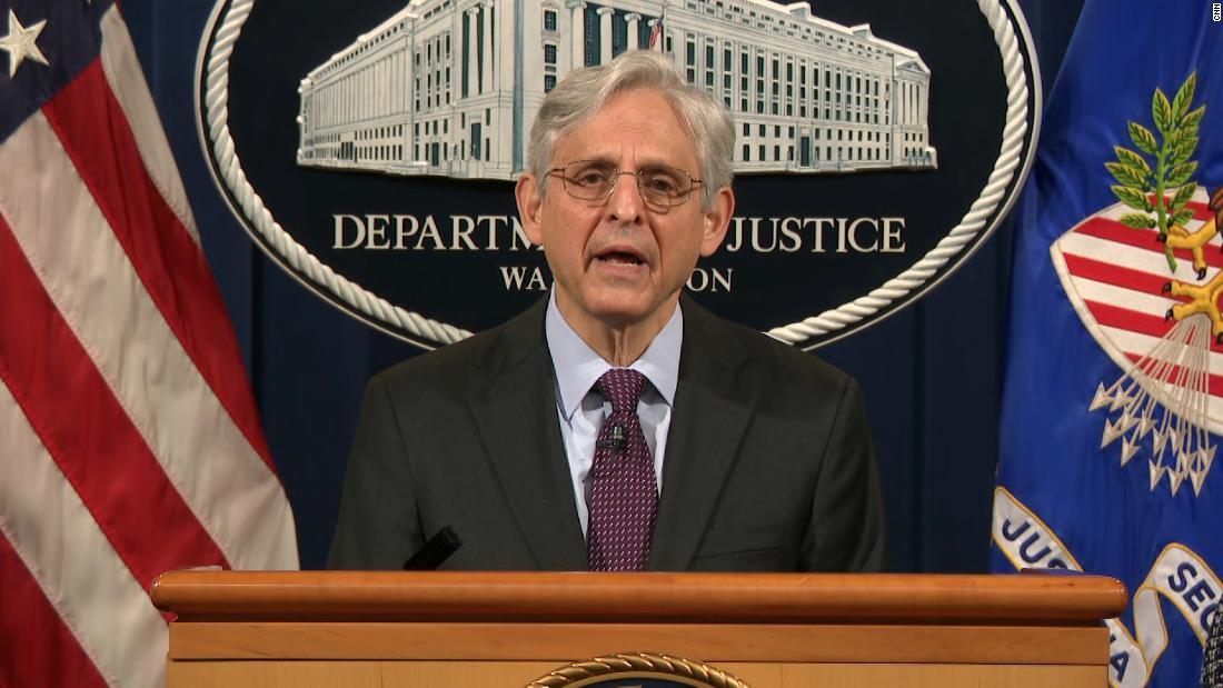 Attorney General Garland and Homeland Security Secretary Mayorkas to tout anti-domestic terror efforts