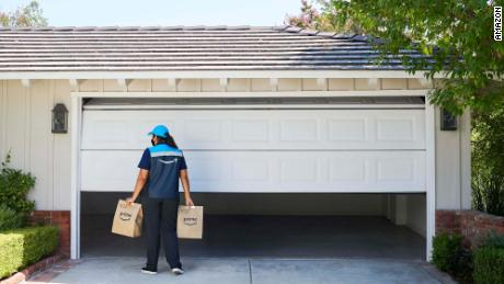 You can now get Amazon groceries delivered inside your garage