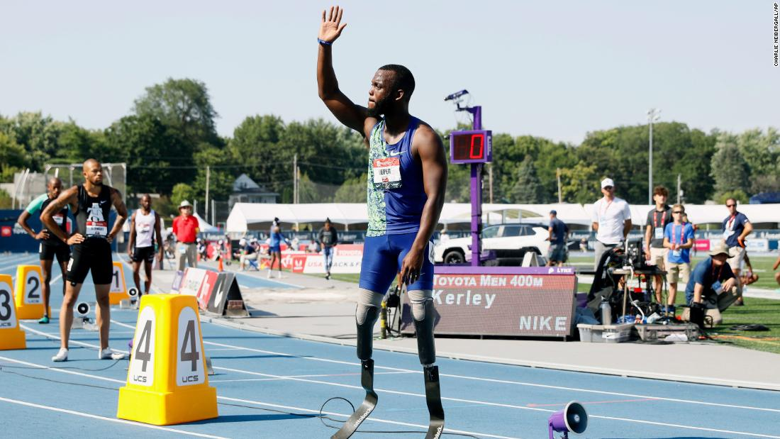 Athletics: Amputee Leeper's application to compete with running blades rejected