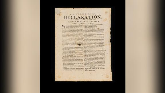 The copy of the Declaration of Independence being offered by New York-based Rally was printed in July 1776 in Exeter, New Hampshire. The company says it is extremely rare, with just 20 such broadside copies existing in private hands. Rally paid $2 million for its copy and plans to offer shares starting at just $25 apiece.