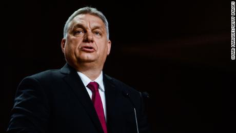 Hungary's Prime Minister Viktor Orban is seen in February.