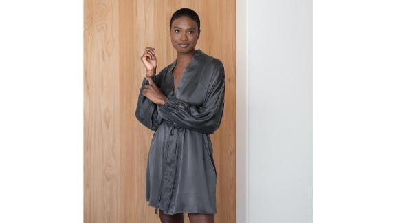 Washable Silk Robe