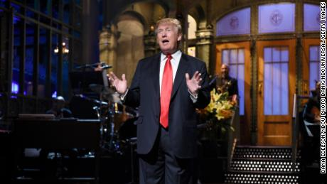 "The biggest controversy regarding a host came in 2015 when ""SNL"" announced that Donald Trump would host."