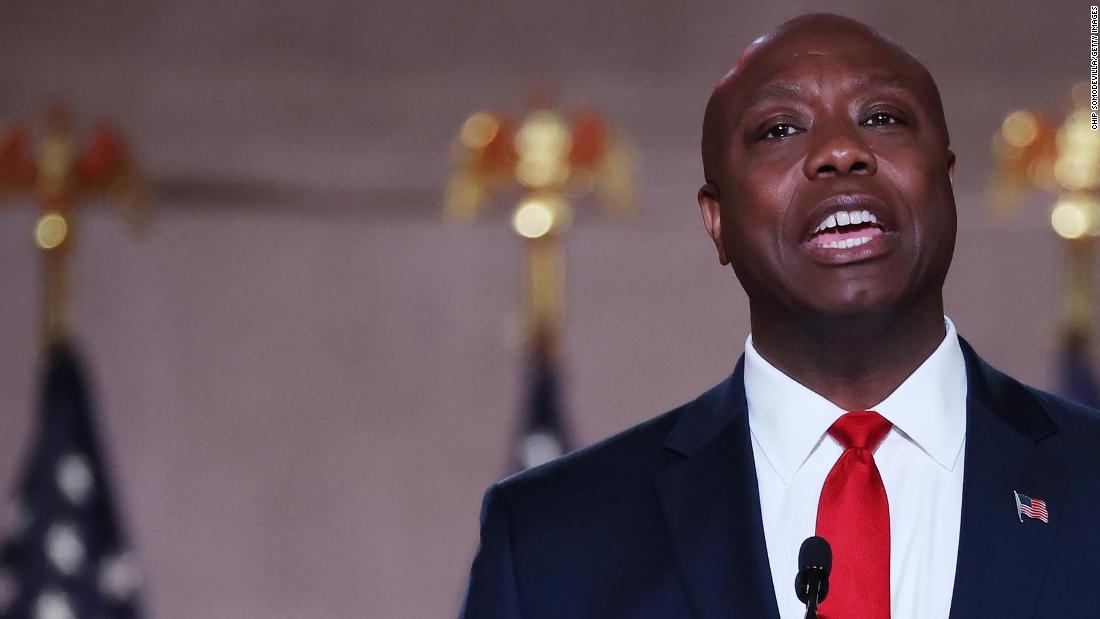 Republican response: Sen. Tim Scott says 'the President and his party are pulling us further and further apart'