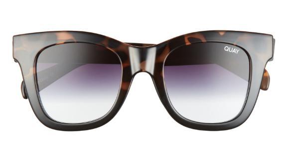 Quay Australia After Hours 50-Millimeter Square Sunglasses