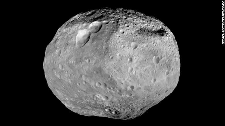 NASA's Dawn spacecraft studied the giant asteroid Vesta from July 2011 to September 2012.