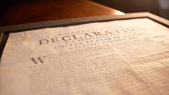 You can own a piece of this copy of the Declaration of Independence