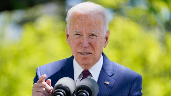 President Joe Biden speaks about COVID-19, on the North Lawn of the White House, Tuesday, April 27, 2021, in Washington. (AP Photo/Evan Vucci)