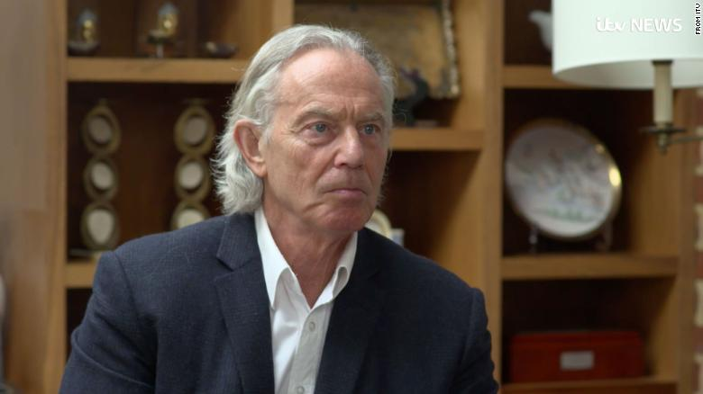 Tony Blair has a mullet now, and it's disturbing Britain