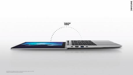 Samsung's Galaxy Book lineup comes with a flexible design