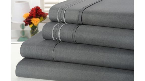Gavinton 1,800-Thread-Count Bamboo Blended Sheet Set