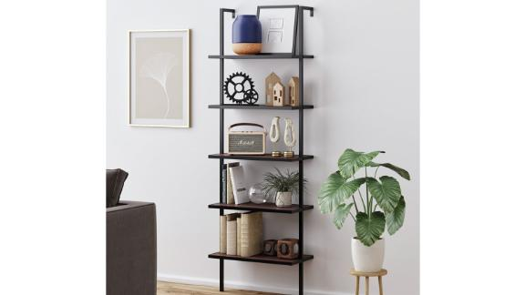 Orren Ellis Zachary Steel Ladder Bookcase