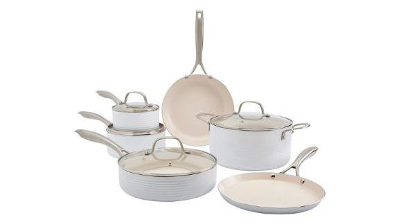 Denmark 10-Piece Aluminum Nonstick Cookware Set