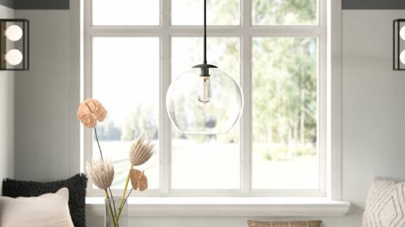 Snead Single Globe Pendant Light