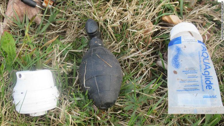 Police in Germany responded to a bomb alert — and found a sex toy