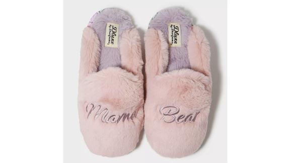 Dluxe by Dearfoams Mama Bear Slippers