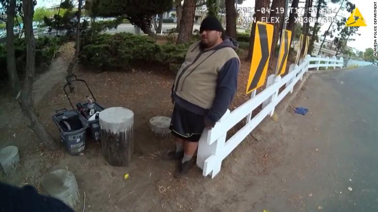 California man who died in custody was restrained on his stomach for 5 minutes and lost consciousness, police body camera shows