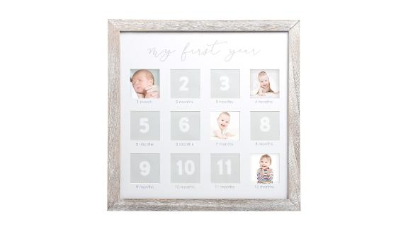 Pearhead Rustic First Year Picture Frame
