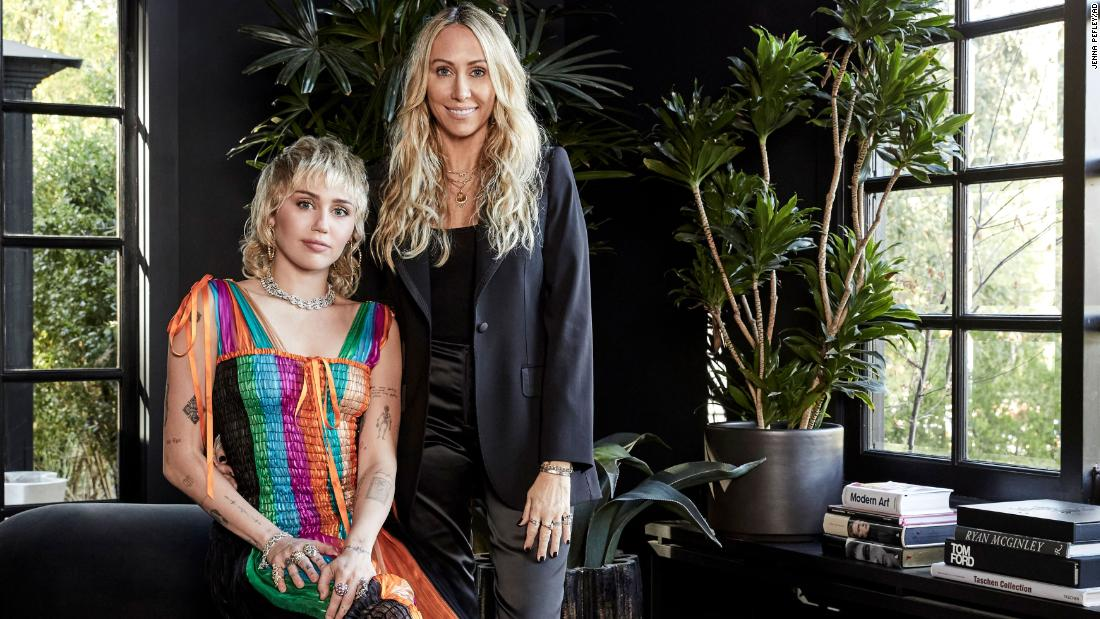 Inside Miley Cyrus' exuberant Los Angeles home -- designed by her mother