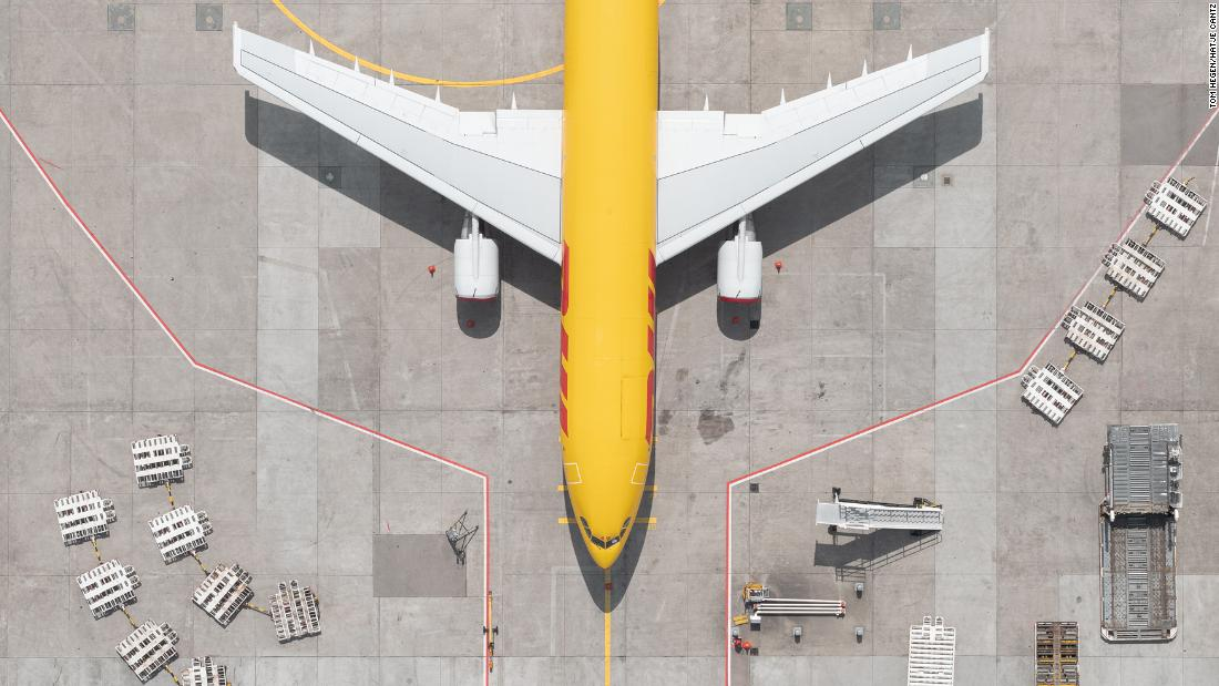 Stunning photos of airports at a standstill