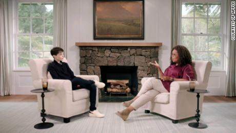Elliot Page cries 'tears of joy' in Oprah interview
