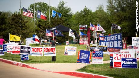 Texas Primary 06 Congressional District