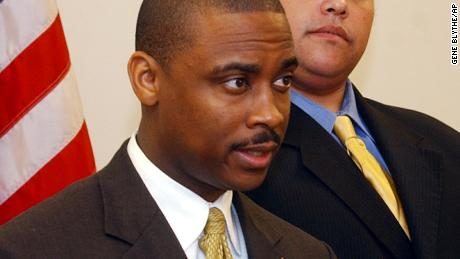 Clayton County Sheriff Victor Hill, seen here in 2005, has been indicted on federal civil rights charges